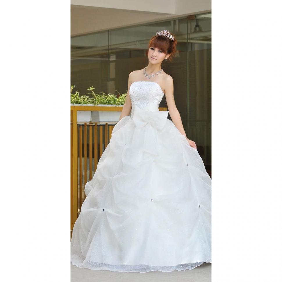 Свадебное платье A1222D (Свадебное платье A1222D (M)). Склады магазина: Мос